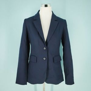 1901 6 Navy Wool Blazer Jacket NWOT